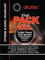 Alcotec MegaPack Turbo Yeast For 100 Litres