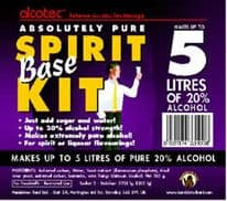 Alcotec Spirit Base Kit (5 Litres) (BB March 21, 20% OFF)