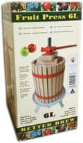 BB Fruit press 6 litre (spindle model)