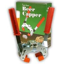 Better Brew Steel Twin Lever Capper, Boxed (26 mm caps)