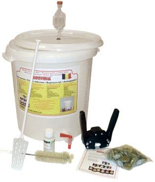 Brewferm Syphonless Traditional Starter Kit With Bottling Bucket, Caps And Capper (Best Value)
