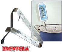 Brewferm Thermometer CLIP Stainless Steel