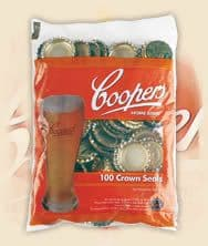 Coopers Gold Crown Caps (100s)