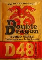 DoubleDragon D48 Extreme Turbo Yeast