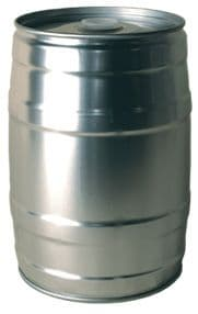 Extra Mini Keg 5 Litres Grey And Rubber Plug from Brouwland