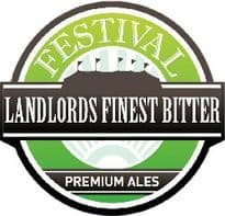 Festival Landlords Finest Bitter Ale 3.0 Kg Beer Kit
