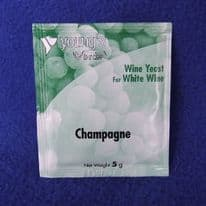 Young's Sparkling (Champaigne) Wine Yeast Sachet 5g